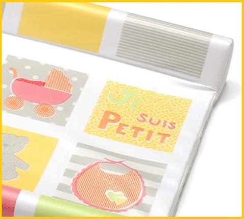 Tappeto fasciatoio portatile colorato