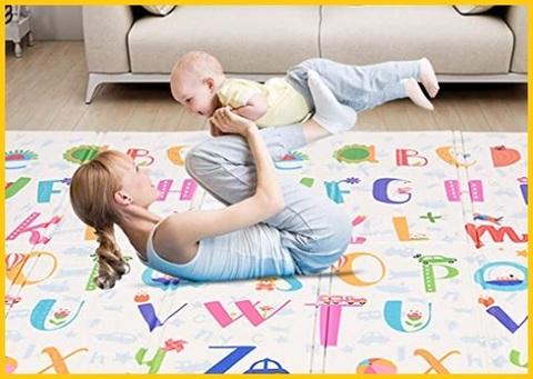 Tappetino gattonamento neonato