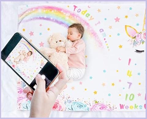 Tappeto mesi per neonati