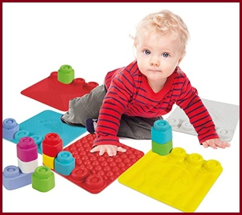 Tappeto neonato sensoriale colorato