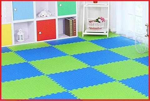 Tappeto puzzle bambini 60x60 2 pezzi