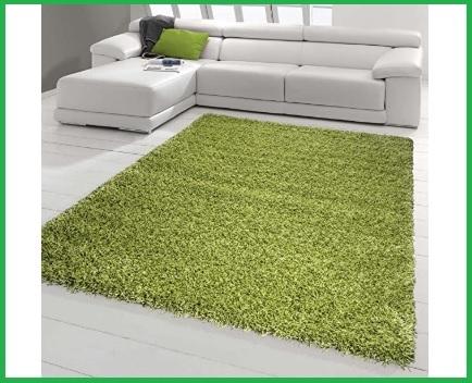 Tappeti Pelo Lungo Verde