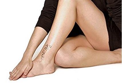 Stelline tattoo temporanei