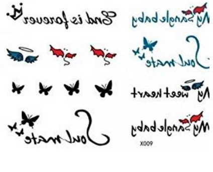 Tattoo frasi impermeabili e facili da applicare