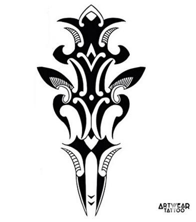 Immagini tatoo tribali sword