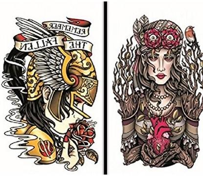 Tattoo tribal impermeabile e temporaneo