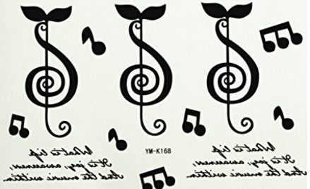 Lettere tattoo adesivi e facili da applicare