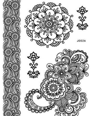 Tatuaggi Stile Hennè Temporanei