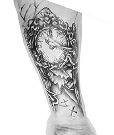 Tatuaggio per qualsiasi parte del corpo