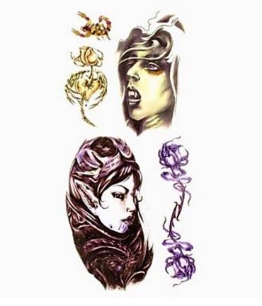Tattoo girls adesivi e temporanei