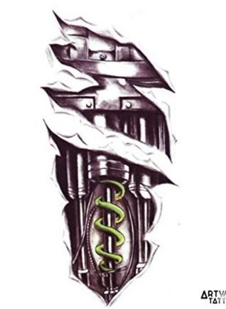 Tattoo unico e molto realistico temporaneo