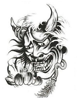 Tatuaggio diavolo giapponese