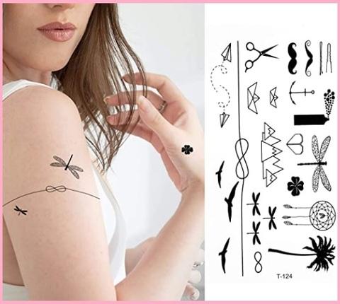 Tattoo petto per donna