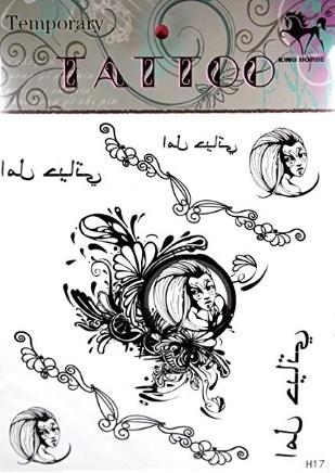 Ali angelo tatuaggi unici temporanei