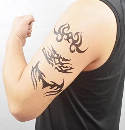 Temporary tattoo tribale