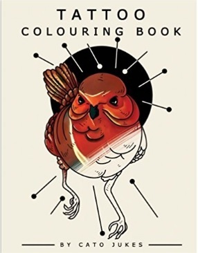 Libro tatoo colouring book | Grandi Sconti | Tatuaggi - Tattoo Temporanei