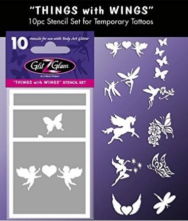 Tatuaggio fatine con ali
