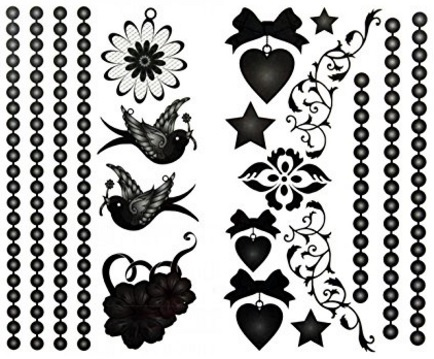 Tattoo impermeabile e perfetto temporaneo rondine