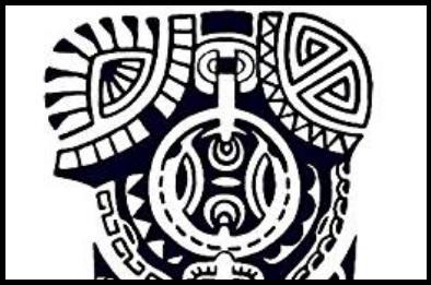 Tatuaggio temporaneo maori