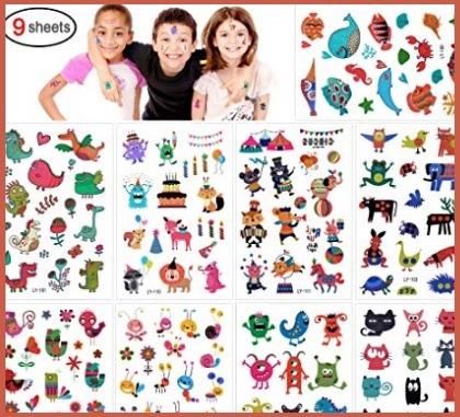 Tattoo animali per bambini