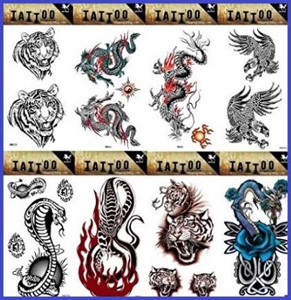 Tattoo drago temporanei