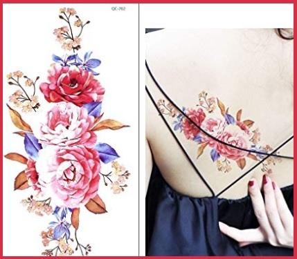 Tattoo fiori colorati