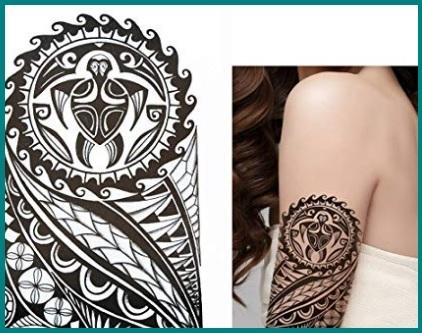 Tattoo maori adesivo