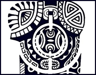 Tattoo maori realistico