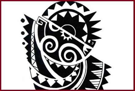 Tattoo maori per adulti
