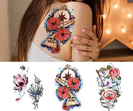 Tatuaggi Temporanei Finti Adesivi