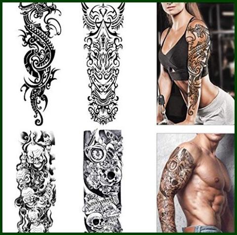 Tatuaggi temporanei adulti uomo
