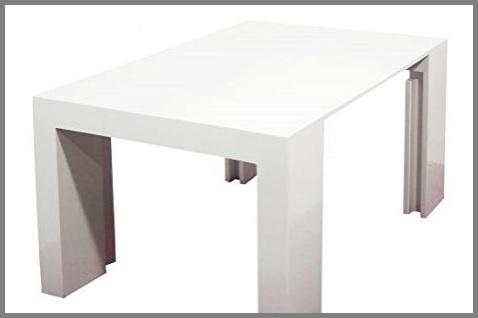 Tavoli consolle 3 metri laccato bianco