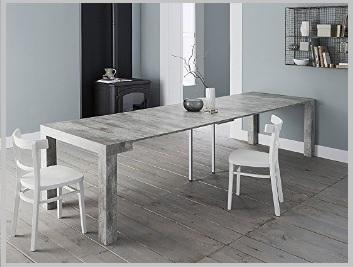 Tavoli consolle allungabili in cemento | Grandi Sconti | Tavoli Consolle