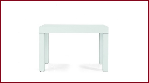 Tavoli Consolle Moderni Bianco