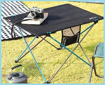 Tavolo Camping In Alluminio