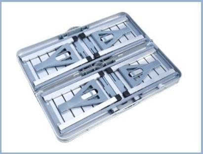 Tavolo Da Campeggio Con Sedie.Tavolino Da Campeggio Con Sedie In Alluminio Argento Grandi