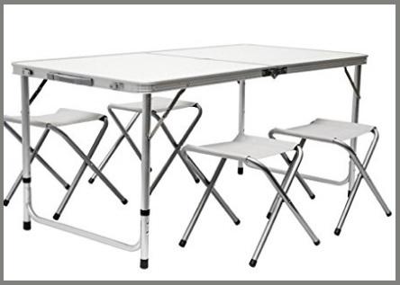 Tavolini Campeggio Camper Alluminio