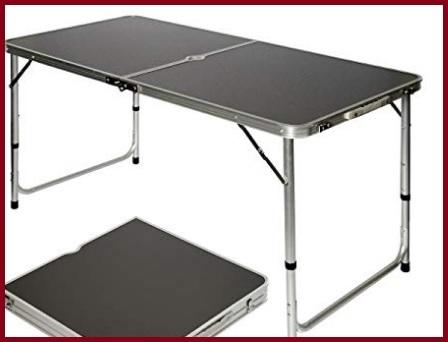 Tavolini campeggio con sedie pic nic