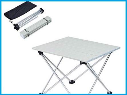 Tavolini campeggio piccoli per viaggi