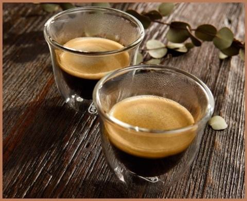 Tazzine caffè in vetro
