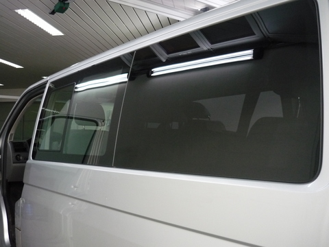 Oscuramento furgone t5. 4 applicazione