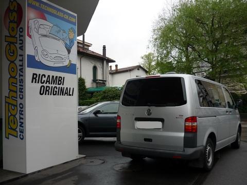Oscuramento furgone t5. 5 consegna