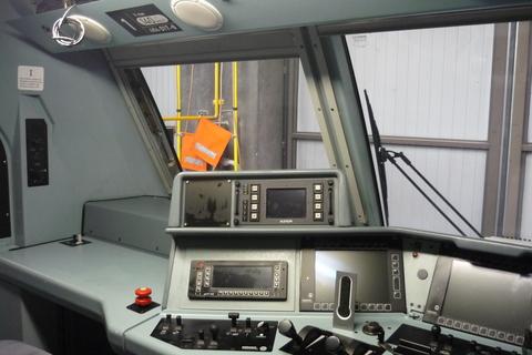 Locomotore sbb cargo cabina