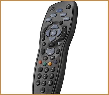 Telecomandi universali decoder nero