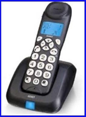 Telefono Cordless Tasti Grossi E Suoneria Alta