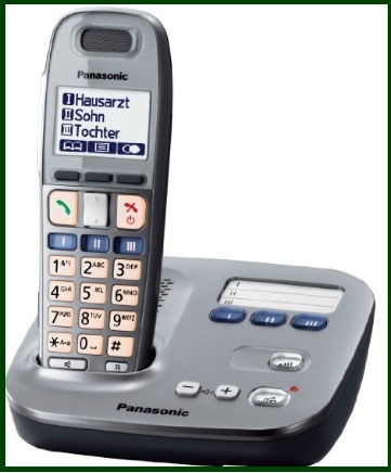 Telefoni Cordless Panasonic Con Sveglia