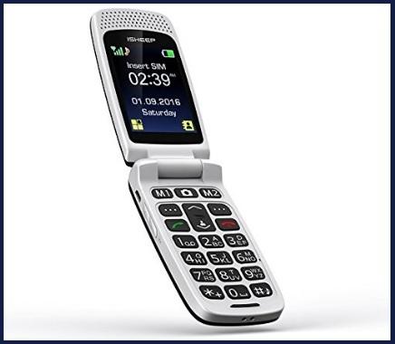 Telefoni cellulari per anziani brondi