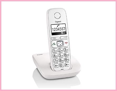 Telefono Cordless Numeri Grandi Display