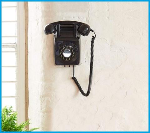 Telefono Parete Retro