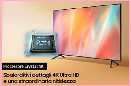 Samsung Smart Tv 4k Con Mega Contrasto Nero